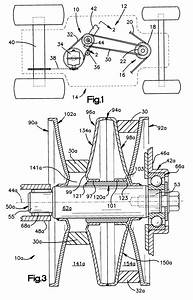Patent Us6361457 - Variable Speed Pulley Assembly