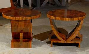 Pair, Of, Art, Deco, Side, Tables, At, 1stdibs