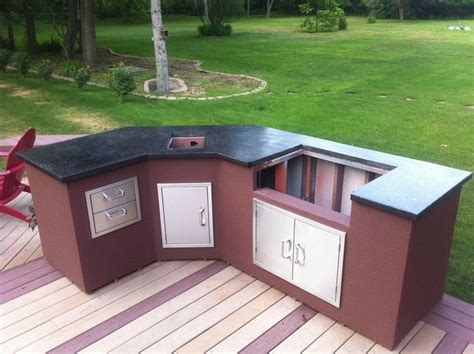 how to build outdoor kitchen island diy outdoor kitchen your projects obn 8520