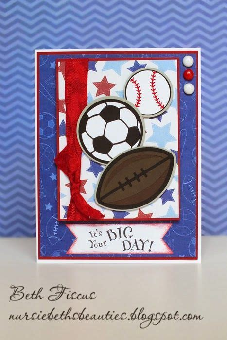 sports balls card  images birthday cards  boys