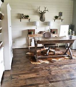 Remodelaholic How to Install a Shiplap Wall + Rustic