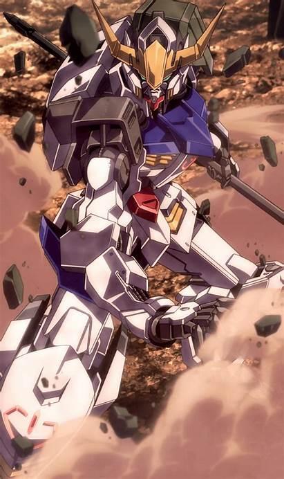 Gundam Orphans Blooded Iron Suit Mobile Barbatos