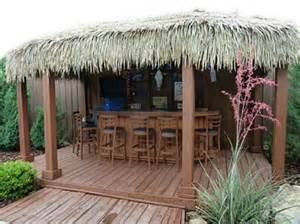 Pool Tiki Hut Ideas