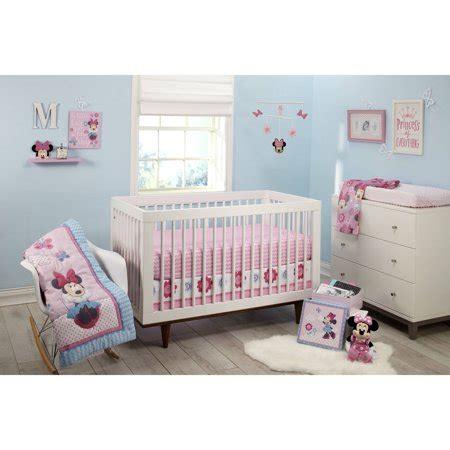 minnie mouse crib set walmart disney minnie mouse happy day 4 crib bedding set