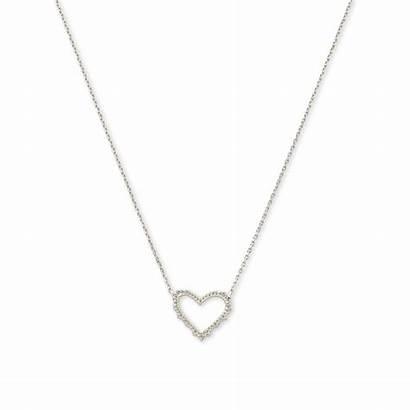 Heart Kendra Scott Necklace Sophee Pendant Jewelry