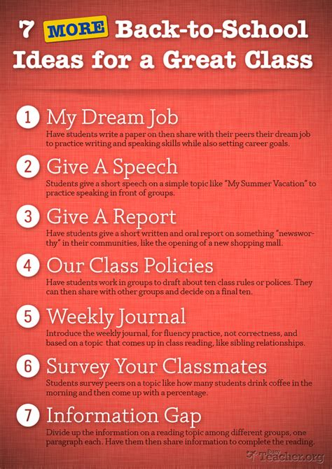 school ideas   great class poster
