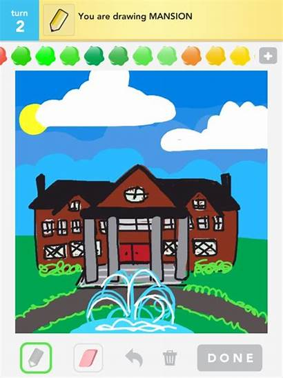 Drawings Mansion Draw Something Rating