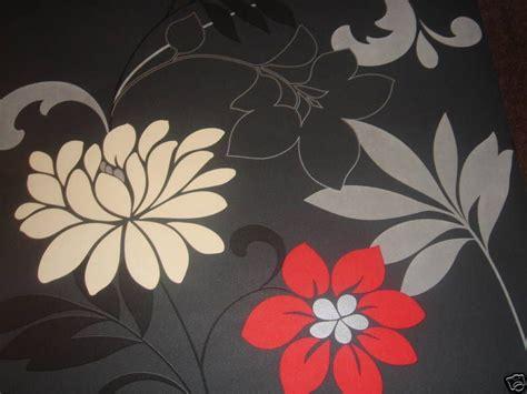 bold flower wallpaper wallpapersafari