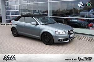 Audi A3 S Line 2010 : 2010 audi a3 cabriolet 1 8 tfsi s line automatic climate car photo and specs ~ Gottalentnigeria.com Avis de Voitures