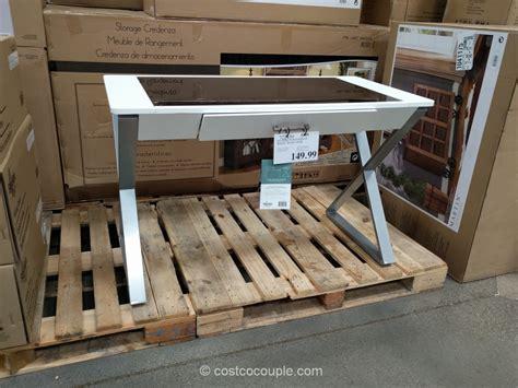 bayside writing desk costco pulaski kensington display cabinet