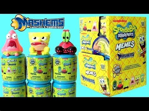 SpongeBob Mashems Memes Case Blind Bag NEW 2017 Mash'Ems