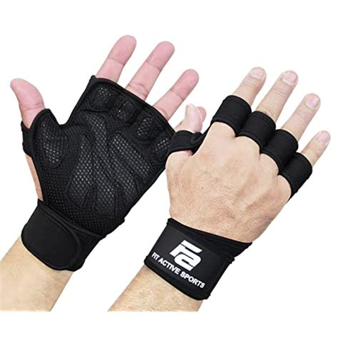 gloves kettlebell grip lifting weight wrist weightlifting palm training cross amazon wraps wods ventilated ups suits pull protection extra fitness