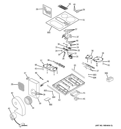 ge ppdnbb electric cooktop parts sears partsdirect