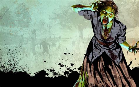 Zombie Wallpaper And Background Image
