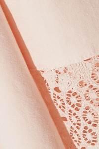 eberjey zelia lace trimmed stretch cotton robe net a With zelia robe