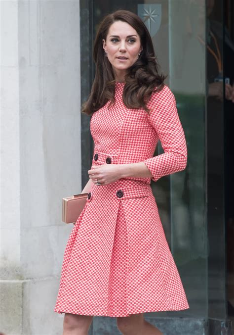 kate middleton wearing millennial pink popsugar fashion