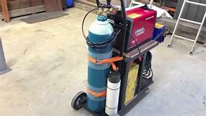 How To Build A Welding Trolley For Mig Setup