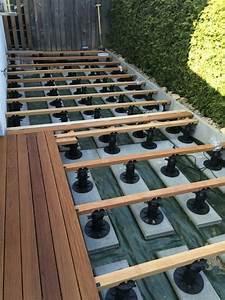 Holzdielen Für Terrasse : bauanleitung f r holzterrasse unterkonstruktion verlegen terrassendielen verlegen ~ Markanthonyermac.com Haus und Dekorationen