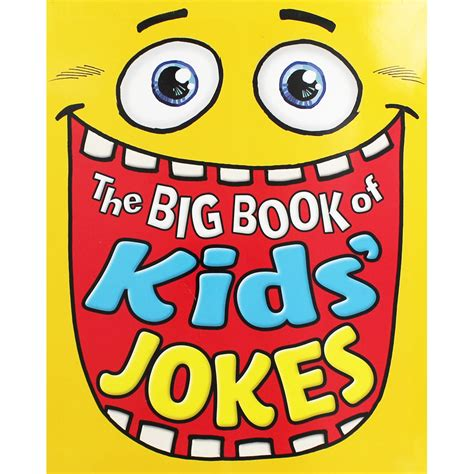 The Big Book Of Kids Jokes By Arcturus  Funny Children's Books At The Works
