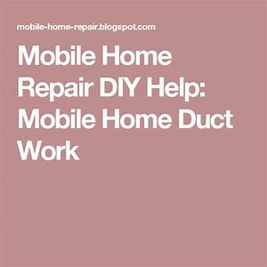 Mobile Home Duct Work