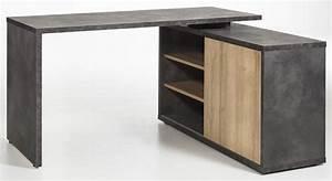 Bureau D Angle But : bureau d 39 angle r versible core chene gris ~ Teatrodelosmanantiales.com Idées de Décoration