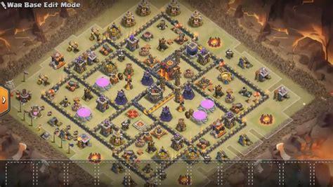 5 anti 3 war base 5 anti 3 war base layouts for clan war with bomb tower 5 an