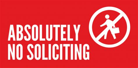 no soliciting sign laws custom signs for the home signs com