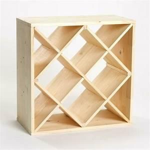 Weinregal Selber Bauen Holz : weinflaschen regalsystem 12fache x einteilung kiefer ~ Watch28wear.com Haus und Dekorationen