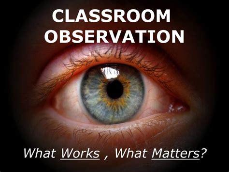 observing teachers allthingslearning