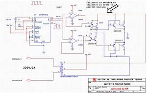 Inverter Circuit 500w  12v To 220v