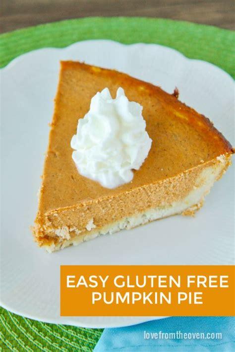 Pumpkin Pie Without Crust Healthy by Gluten Free Pumpkin Pie Recipe Pie Recipes Gluten
