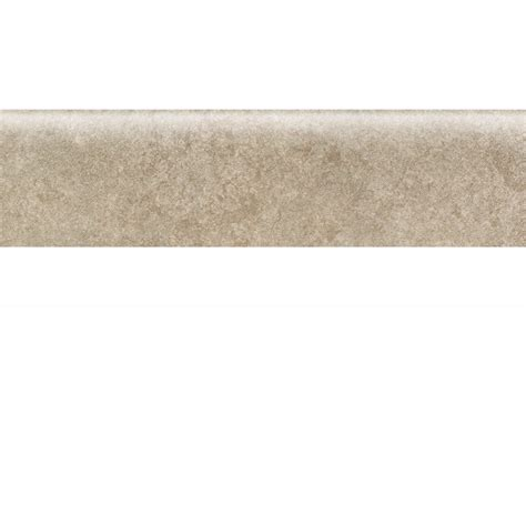 bullnose tile lowes shop american olean castlegate gray porcelain bullnose