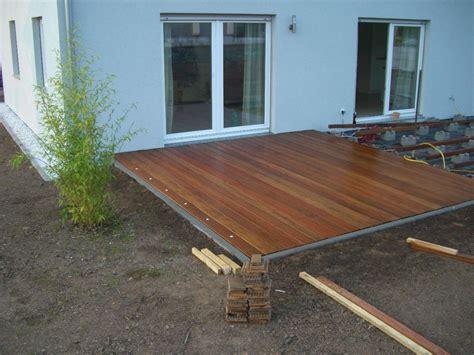 Kleine Terrasse Bauen by Holzterasse Selber Bauen In 2019 Wooden