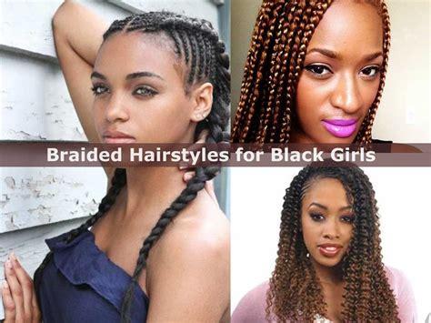 Teenage Hairstyles With Braids