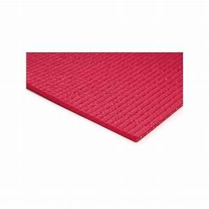 tapis yoga fuschia 6018004 cm tapis pilatesfr With tapis de gym avec canapé 130 cm longueur