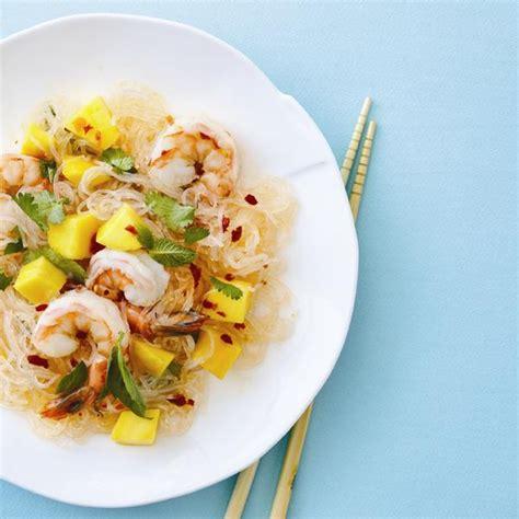 salade de nouilles aux crevettes et 224 la mangue ch 226 telaine