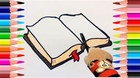 Como dibujar un libro como dibujar un libro abierto