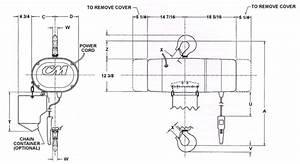 Lodestar Xl Electric Chain Hoist