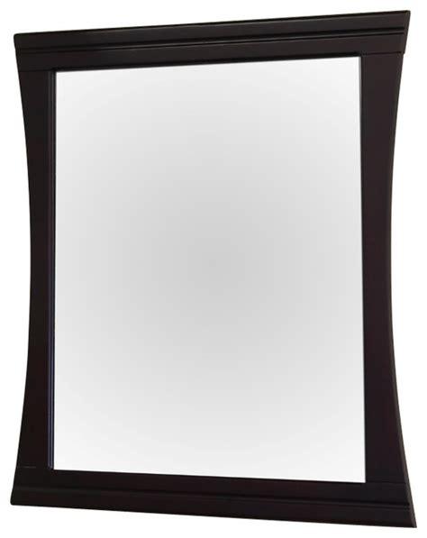 "Wood Frame Mirror, 32""  Contemporary  Bathroom Mirrors"