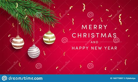 ✓ free for commercial use ✓ high quality images. Merry Christmas Greeting Card Vector Template. Happy New ...