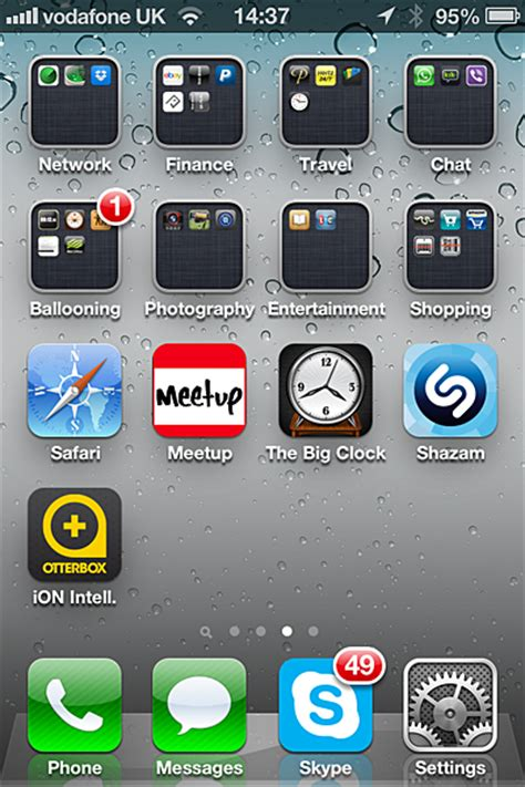 arrange apps on iphone how to organize your iphone apps with less logic more