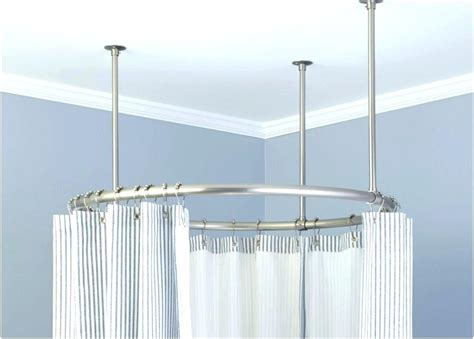 Mounted Shower Curtain Rod Ceiling Mount 3 4 Adjustable Curtain Rod Set Ceiling Ceiling Mounted Hanging Curtain Room Divider Thermal Window Liners Feng Shui Shower Color Unit Panel System Wall Croydex Angled Rail Ceiling Mount Rods Monster Truck Curtains How To Fix Double