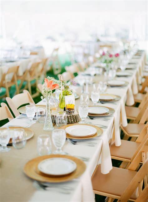 Charming Springtime Garden Wedding Amazing wedding table