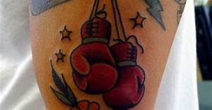 Muay Thai Fighter Designs Boxing Gloves On Dung Thank You Pal Fighter Tko