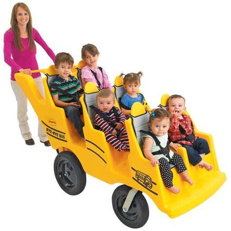 bye bye stroller new product spotlight school 826 | bye bye bus daycare stroller angeles
