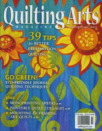 quilting arts magazine februarymarch  issue