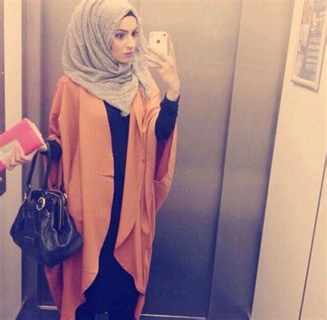 simple abaya  kimono hijab fashion hijab fashion
