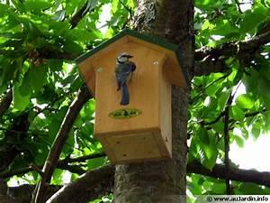 Nichoir à Mésange : un nichoir pour les oiseaux ~ Premium-room.com Idées de Décoration