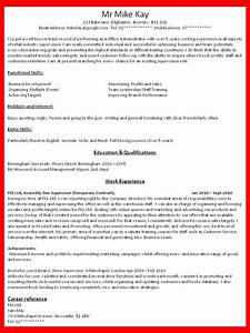 How to get a job how to write a good resume for your for How to write a resume for my first job