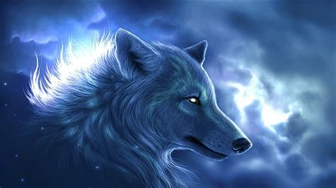 wolf fantasy art animals wallpapers hd desktop